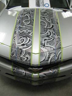Car wrap....LOVE this idea