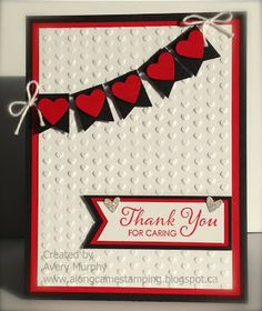 Along Came Stamping: Thank You For Caring #stampinup #LotsofThanks