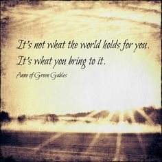 Anne of Green Gables ♥