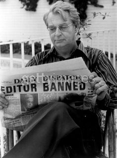 "Donald Woods was editor-in-chief of the Daily Dispatch, a newspaper in South Africa. While editor, he integrated the editorial staff (in direct opposition to apartheid) and took up an anti-apartheid stance. The film ""Cry Freedom"" is based on Woods friendship with Steve Biko"