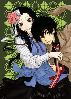 Hibari Kyouya with mature I-Pin. Never thought about this pairing before, but the art is nicely done. - Katekyou Hitman Reborn