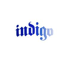 Indigo_ Model Clothing Label