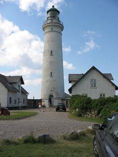 The Lighthouse in Hirtshals, Denmark