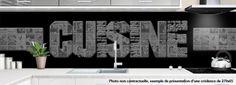 crédence AFF CUISINE - design-credence-deco.fr