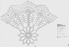 Doily Lace Free Pattern Link - Her Crochet Filet Crochet, Mandala Au Crochet, Crochet Circles, Crochet Doily Patterns, Crochet Diagram, Crochet Chart, Thread Crochet, Crochet Motif, Crochet Doilies
