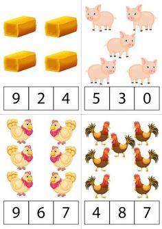 Fall Preschool Activities, Preschool Writing, Numbers Preschool, Kindergarten Math, Teaching Math, Toddler Activities, Lkg Worksheets, Printable Preschool Worksheets, Worksheets For Kids