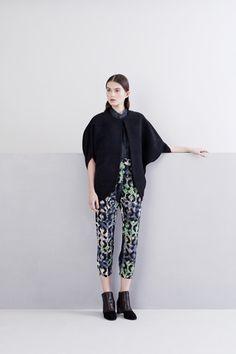 Zero + Maria Cornejo Pre-Fall 2014 Collection Slideshow on Style.com