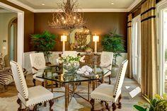 The Collection - Great Oaks Way - mediterranean - dining room - sacramento - Joyce Hoshall Interiors