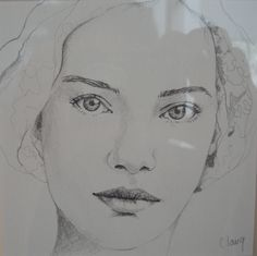 """portrait"": drawing by C.lang  http://chalang.wordpress.com/a-propos/"