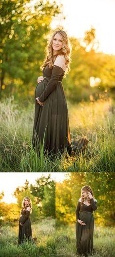 b792861b02 Aurora CO Maternity Photographer - Denver Beauty and Boudoir Photographer.  Green flowy maternity dress from silk fairies