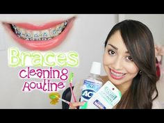 Braces Cleaning Routine | Best products for braces, floss, brush, mouthwash, etc. - YouTube