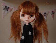OOAK Artdoll Blythe Doll by Melacacia Custom #144 ~ Little Human Girl ~ Callie