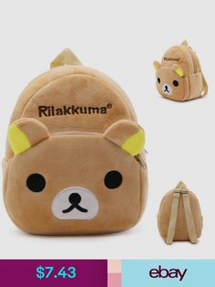 1f1e0c4b9d77 2017 Cartoon Kids Plush Backpacks Baby Mini Schoolbag Hello Kitty kindergarten  Backpack Cute Children School Bags for Girls Boys