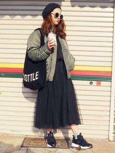 natsupooさんのスカート「COCA 」を使ったコーディネート
