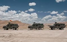 RG-31 Mk5E MRAP vehicles, Ejército de Tierra, Spanish Army, in Afghanistan.