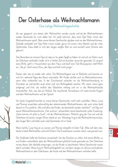 Funny Christmas story - A free worksheet for Christmas, on which the children will find a funny Christmas story and three ta - Alphabet Worksheets, Worksheets For Kids, A Christmas Story, Christmas Humor, Christmas Worksheets, Maths Puzzles, Kindergarten Lessons, Winter Illustration, Winter Pictures