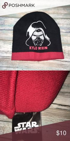 NWOT Star Wars Kylo Ren Beanie •Star Wars New without tags Kylo Ren beanie. ded87d1d5d3a