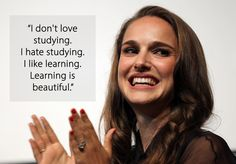 On her brain: | 11 Quotes From Natalie Portman That Prove She Just Gets It