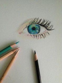 Colorpencil eye