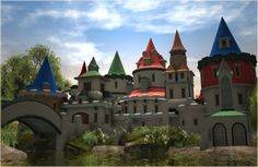 Custom Scenery Depot - Theme Park Games - Castle Things 2