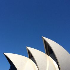 Opera House sails mid morning