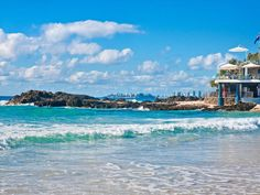 Currumbin Beach- best place to have morning tea after a surf-if you are local