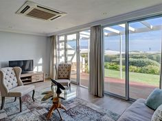 Dolphin Beach Cabana - This fully furnished and upmarket two-bedroom beachfront apartment is located right at the beach, in the exclusive Dolphin Beach complex. Enjoy a drink on your private patio overlooking the ocean, with ... #weekendgetaways #bloubergstrand #southafrica
