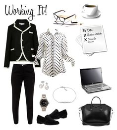 Working It by cmrno on Polyvore featuring Comme des Garçons, Ted Baker, Nine West, Givenchy, Rolex, FOSSIL and Bling Jewelry
