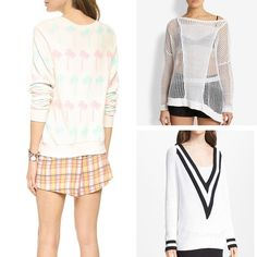 Rank & Style | Top Ten Fashion and Beauty Lists - Spring Sweaters  http://www.rankandstyle.com/top-10-list/best-spring-sweaters/ #rankandstyle