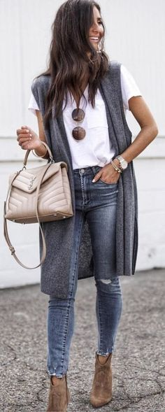 Womens fashion over 30 fall outfit ideas 33 Super ideas Fashion Mode, Fashion Outfits, Womens Fashion, Fashion Trends, Cheap Fashion, Ladies Fashion, Trendy Fashion, Fashion Purses, Fashion Tips