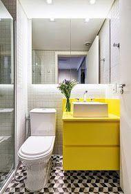 Vanessa Freitas | blog de esposa, mãe, dona de casa e artesã: 10 dicas para decorar banheiros pequenos