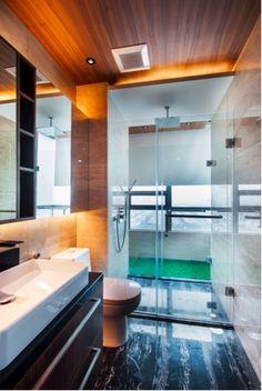 Bathroom Design Jakarta modern minimalist bathroom designdp+hs architect, jakarta
