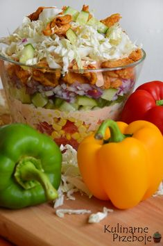 Mayonnaise, Polish Recipes, Chicken Salad, Guacamole, Good Food, Food And Drink, Cooking Recipes, Curry, Stuffed Peppers