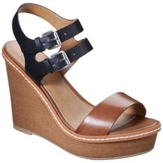 Women's Mossimo® Patricia Fabric Covered Wedge S... : Target  Target women shoes sandals  Women's Mossimo® Patricia Fabric Covered Wedge Sandal -Cognac  Rating: Not rated be the first to review  $29.99