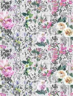 Designers Guild Majolica Slate fabric