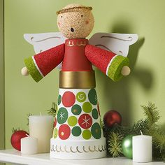 Angel craft ideas! 12 Ways to Make a Christmas Angel
