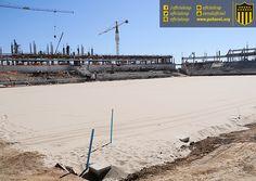 #EstadioCAP   Postales de las obras de construcción del Estadio de Peñarol   14 Meses en obra