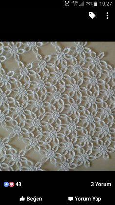 Crochet Locs - Cuello A Crochet - Tejido - Diy Crafts - Hadido - Diy Crafts Crochet Leaves, Crochet Wool, Crochet Motifs, Cotton Crochet, Irish Crochet, Crochet Doilies, Crochet Flowers, Crochet Stitches, Crochet Patterns