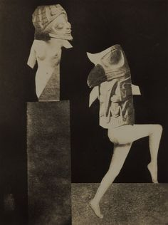 ca 1935 Hannah Höch - untitled photo-montage. Collages, Collage Artists, Collage Illustrations, Dada Artists, Famous Artists, Hannah Hoch Collage, Hannah Höch, Photoshop, Sculpture