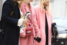 Pretty in Pink at Copenhagen Fashion Week #streetstyle #cfw