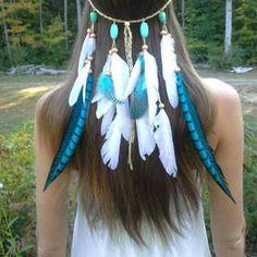 원고에 많이 참고하는 아오바 인디언 머리끈이 이건데요... 인디언들이 결혼할때 신부에게 씌어줬던 머리띠라고 합니다.