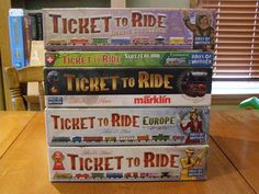Ticket to Ride, I Love this game!