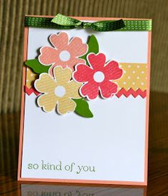 Krystal's Cards: Flower Shop Card Class #2
