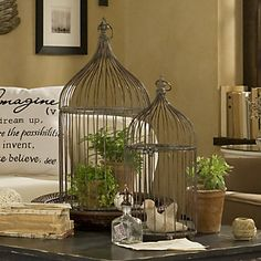 Daily Design Delight: Decorating with Bird Cages - Pure Inspiration