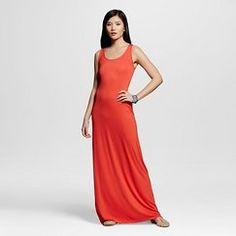 Women's Solid Maxi Dress - Merona™