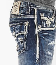 Rock revival mens slim fit jeans ... Nothing beats a man wearing a HOT PAIR OF JEANS!!!