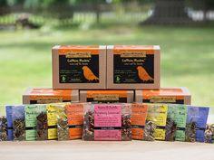 Caffeinated Tea Sampler Gift Set loose tea by becauseURpriceless
