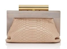Simply beautiful purse. Love the combination of clean lines and luxe skin.