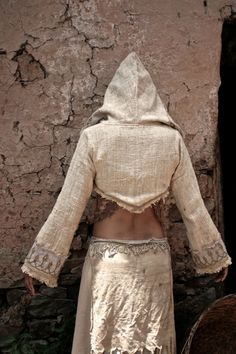 Raw Khadi rough Cream Natural cotton Embroidery by AnuttaraCrafts Khadi, Jute, Armor Clothing, Apparel Design, Festival Outfits, Slow Fashion, Simple Outfits, Hippie Boho, Bohemian