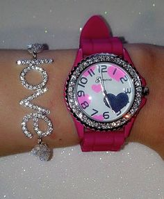 <3 the bracelet and watch